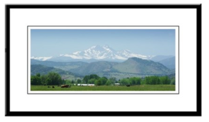 Mount Meeker Longs Peak Framed Print