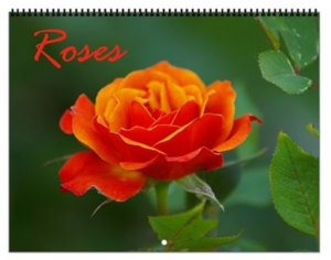 Roses Vol 1 Calendar
